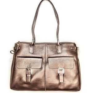 NWT Etienne Aigner Brown Leather Laredo Collection